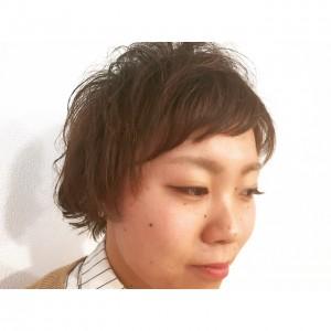 ショートスタイルに、プチニュアンスパーマ☆