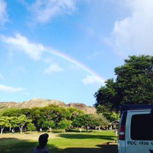 ハワイアロハ!!虹☆