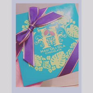 ハウオリ.オラ チョコレート(*'▽')