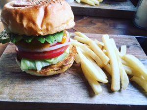 ボリューミーハンバーガー