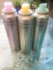 Day charm UV mist ♪