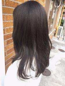今年の暗髪☆