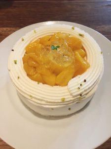 かき氷のケーキ☆