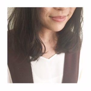 暗髪×ニュアンスロブ