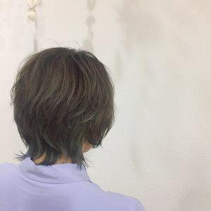 *インナーカラー☆アクセントで夏っぽく*