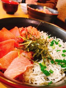 海鮮丼!!