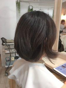 髪癖おさまるーの。