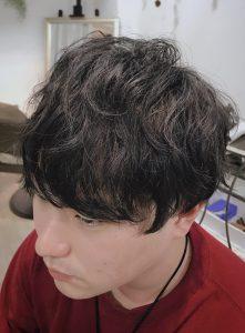 ☆波ウェーブ風パーマ