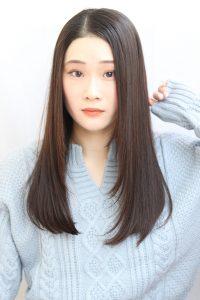Aujuaトリートメントで髪をキレイに美しく!!。