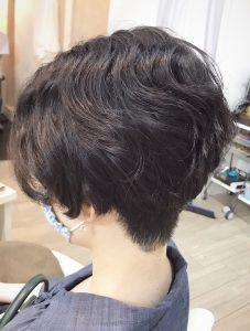 ☆くせ毛ショート