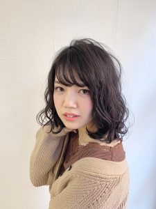 *冬スタイル☆人気ゆるふわボブ*