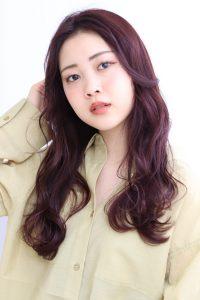 *春スタイル☆ピンクブラウンとハイライト*